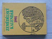 Zemědělský kalendář 1991 (1990)