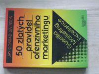 Levinson - 50 zlatých pravidel ofenzívního marketingu (1996)