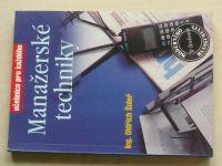 Šuleř - Manažerské techniky (1995)