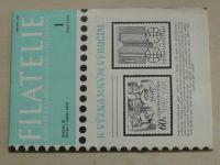 Filatelie 1-24 (1979) ročník XXIX. (chybí čísla 5-7, 21 čísel)