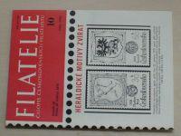 Filatelie 10 (1979) ročník XXIX.