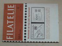Filatelie 1-24 (1990) ročník XL. (chybí čísla 14-24, 13 čísel)