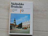Turistický průvodce ČSSR 26 - Náchodsko, Hradecko (1986) + mapa