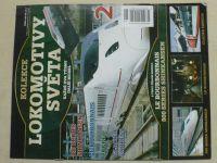 Kolekce Lokomotivy světa 1-40 (nedatováno) chybí číslo 1 (39 čísel)