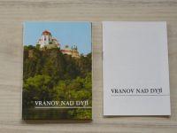 Vranov nad Dyjí - 12 pohlednic v třídílné obálce
