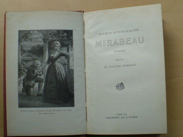 Schirokauer - Mirabeau (Vilímek 1925)