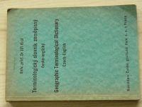 Dr. Král - Terminologický slovník česko-anglický (1947)