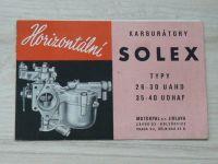 Horizontální karburátory SOLEX typy 26-30 UAHD, 35-40 UDHAF - Motorpal Jihlava