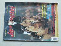 Jezdectví 1-12 (2001) ročník XLIX. (chybí číslo 1, 11 čísel)