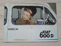Prospekt FIAT 600 D, německy