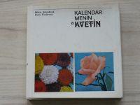 Sulyoková, Timárová - Kalendár menín a kvetín (1972) slovensky