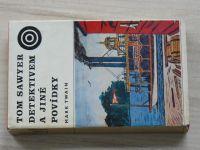 Twain - Tom Sawyer detektivem a jiné povídky (Střelka 1975) il. Lhoták