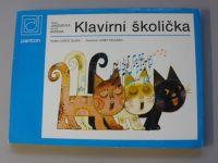 Janžurová, Borová - Klavírní školička pro děti 4-7 leté (1989)