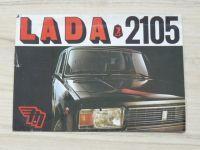 Prospekt LADA 2105 - Mototechna, česky