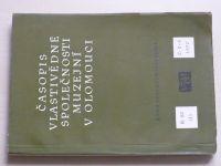 Časopis vlastivědné společnosti muzejní v Olomouci 2-3 (1970) ročník LX. (dvojčíslo)