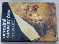 Nerostné suroviny ČSSR ve fotografii (1983)