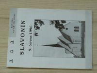 Památka na svěcení zvonů - Slavonín 9. června 1996 - Olomouc