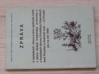 Zpráva o výsledcích chovu a lovu spárkaté zvěře v jelení oblasti Drahanská vrchovina... za rok 1990