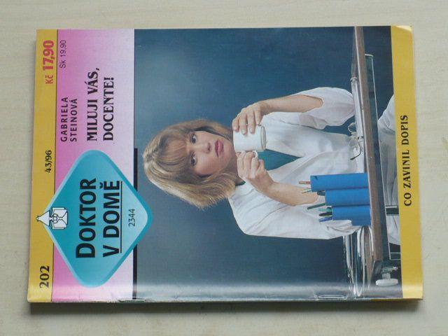 Doktor v domě 202 - Steinová - Miluji vás, docente! (1996)