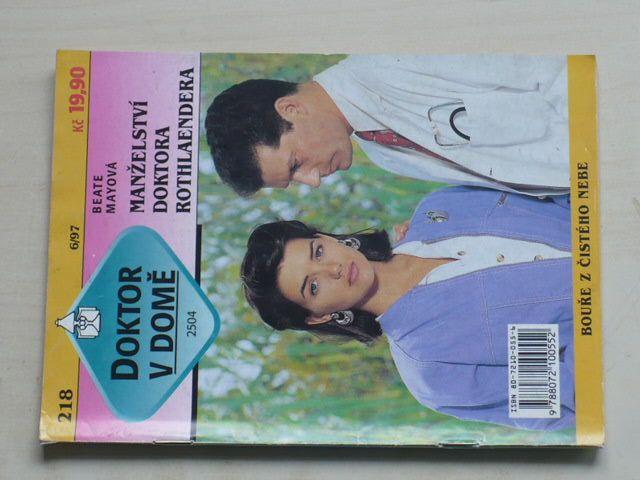Doktor v domě 218 - Mayová - Manželství doktora Rothlaendera (1997)