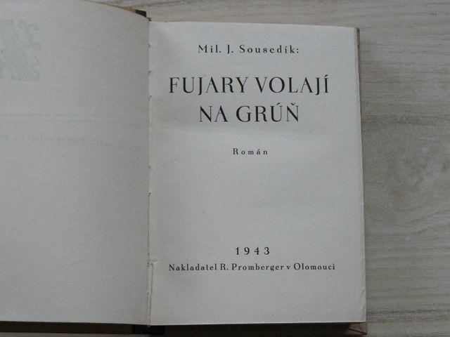 Sousedík - Fujary volají na grúň (1943) Valašsko