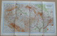 Mapa - Grossdeutsches Reich - Sudetenländer 1 : 900 000 (1942)