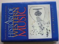 Grout, Palisca - A history of western music (1996) anglicky