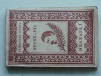 Hálek - Spisy VII.-VIII. - Dramata I.-II. (1925) 2 knihy