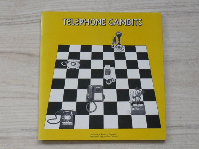 Telephone gambits - A Module for Teaching Telephone English to Second Language Learners (1990) angl.