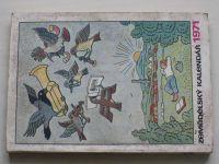 Zemědělský kalendář 1971 (1970)