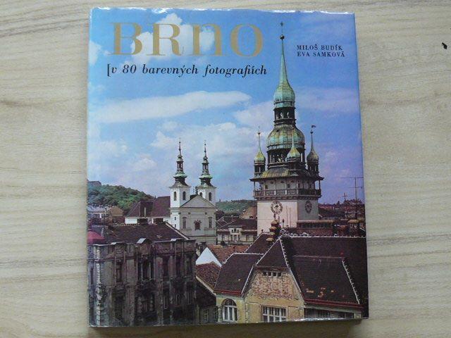 Budík, Samková - Brno v 80 barevných fotografiích (1976)