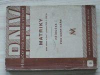 Příručka pro národní výbory - Matriky -podle zákona ze dne 1.12.48 č.268 Sb.- Příručka pro matrikáře