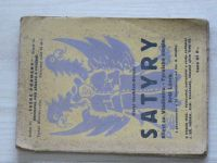 K. H. Borovský - SATYRY - Křest sv. Vladimíra. - Tyrolské elegie. - Král Lávra. (1925)  il. Hruška