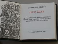 Villon - Velká závěť (1985)