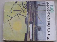 Zemědělský kalendář 1981 (1980)