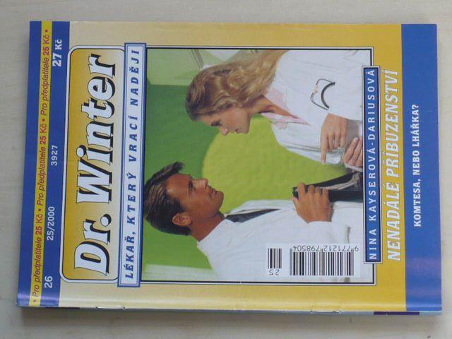 Dr. Winter 26 - Kayserová-Dariusová - Nenadálé příbuzenství (2000)