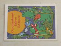 Duffková - O potrestané žabce Rosince (nedatováno)
