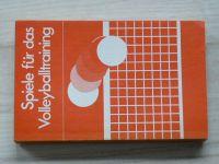 Fröhner - Spiele für das Volleyballtraining (1987) německy