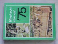 Myslivecký kalendář 1975 (1974)