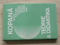 Navara, Ondřej, Buzek - Kopaná - Teorie a didaktika (1986)