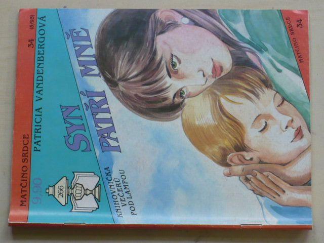 Matčino srdce 34 - Vandenbergová - Syn patří mně (1993)