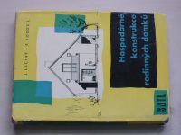 Laciný, Kobosil - Hospodárné konstrukce rodinných domků (1961)