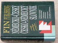 Německo - český, Česko - německý slovník - s novým německým pravopisem (FIN 1997) ilustrace