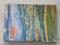 Zemědělský kalendář 1986 (1985)