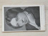 Sigrid Unsetová u Ladislava Kuncíře v Praze - sešit