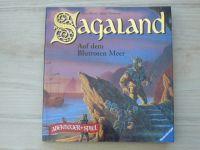 Morris, Thompson - Sagaland I. - IV. (4 knihy) německy, gamebook
