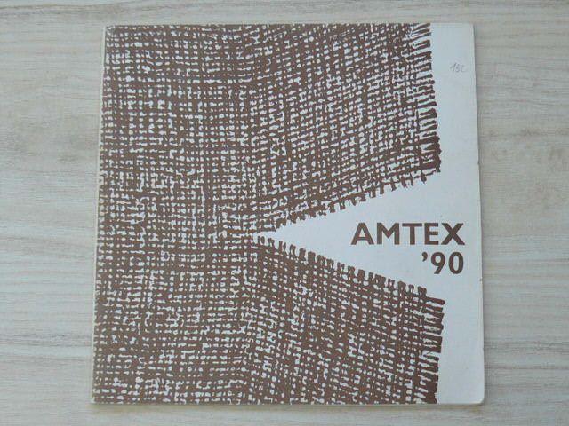 Výstava AMTEX 90 - Amatérská textilní tvorba, Klatovy 1990