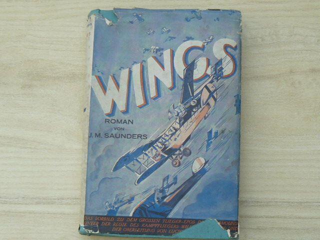WINGS - Roman von John Monk Saunders (Berlin) německy