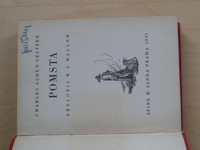 Seltzer - Pomsta (Sfinx 1931)