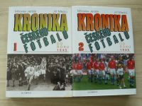 Jenšík, Macků - Kronika českého fotbalu 1. díl do roku 1945 2. díl od roku 1945 (1997-1998) 2 knihy
